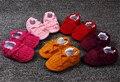 Baby Boy Meninas Crib Shoes Infantil Berço De Algodão Outono e Inverno Bebê Sapatos de Sola Macia Sapatos de Moda Da Franja s-1