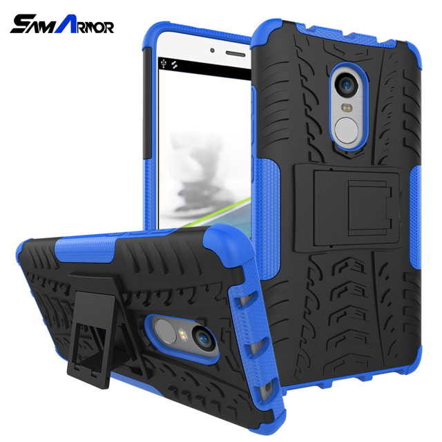 Cases Cover TPU +PC Phone Stand Case For Xiaomi Redmi 4 4A 3S 3 S 4X 5 Plus Note 3 4 5 Pro Prime 4X 5A Mi A1 A2 F1 5X S2 Luxury