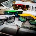 2016 Top Venda de Moda de Nova Design Mulheres Homens Retro óculos de Sol Do Vintage Espelho óculos de sol óculos