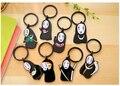 1 pcs Aleatória PVC Nenhum homem face chaveiro Anime Japonês a Viagem de Chihiro Miyazaki A Viagem de Chihiro Figuras keychain chaveiro Pingente