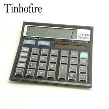 CT-512GC Tinhofire 12 цифр Office калькулятор компьютер Солнечный Калькулятор Размер 128×126 см