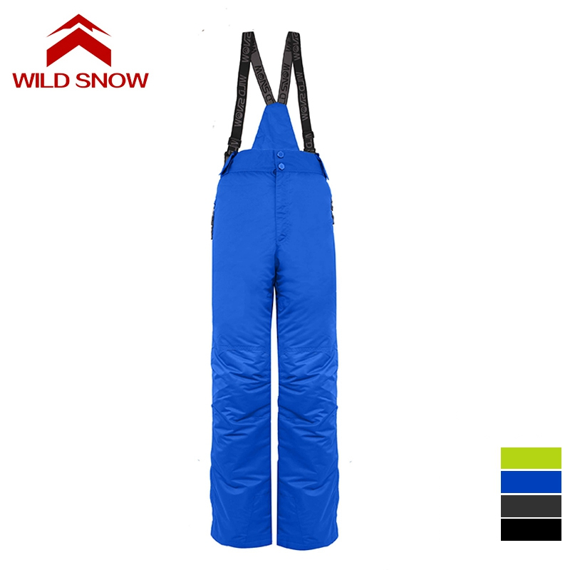 WILD SNOW new men skiing pants brands Outdoor Warm Snowboard trouser male waterproof snow trousers breathable sport pant ...