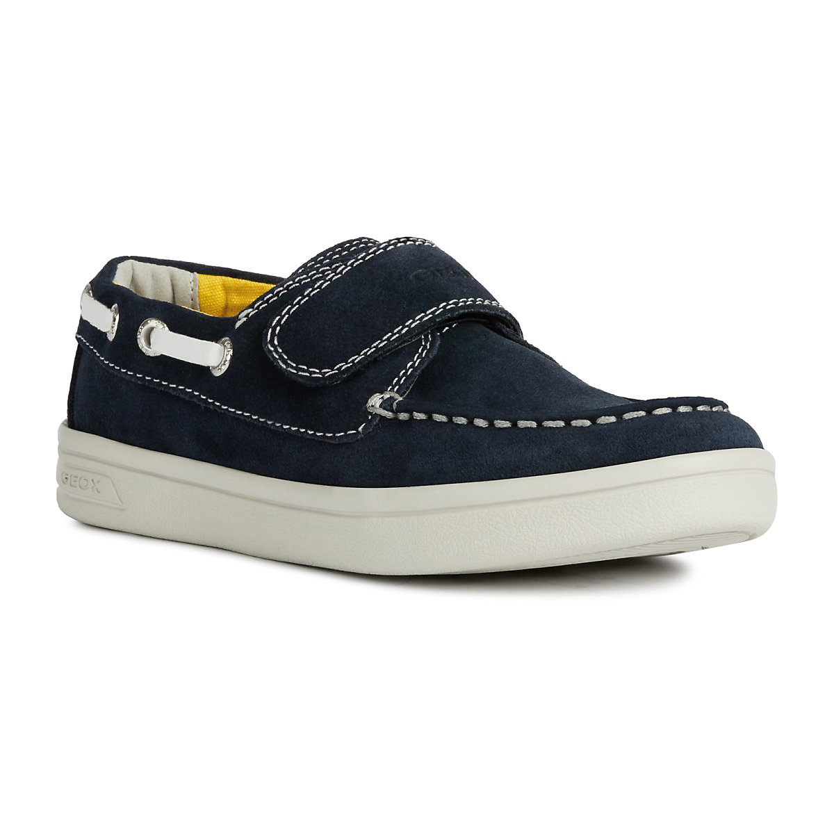 GEOX Children Casual Shoes 10614440  Loafers for boys moccasins boots convenient comfortable footwear light weight demi-season 2018 flower print men loafers casual shoes rivets studded round toe spikes men elastic slip on flat shoes sapatos shoes mens