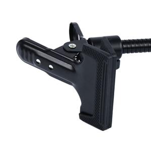 Image 4 - Soporte de fondo abrazadera C Clip foto de cámara accesorio de estudio soporte de luz Flex Reflector con brazo foto Camara fotográfica