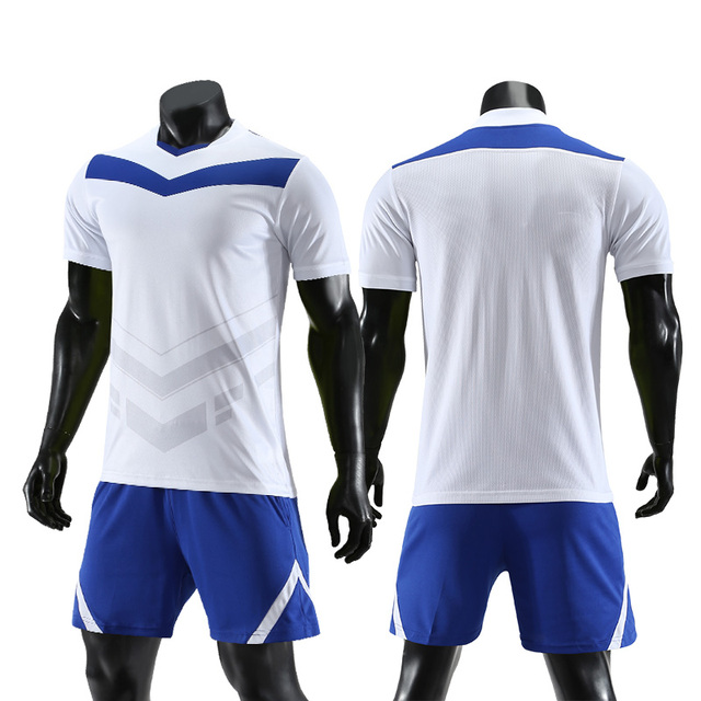 5ebe44136 Breathabe boys men football jerseys uniforms blank football jerseys set  quick dry soccer team training suits print football sets