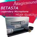 6PCS High Quality Beta 57a !! Vocal Karaoke Handheld Dynamic Wired Microphone Super-cardioid Microfone BETA57 Beta 57 A