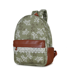 Women'S Canvas Bags Fashion Women'S Backpack Capacity Travel Bag Backpacks Lovely School Bags for Student Bag