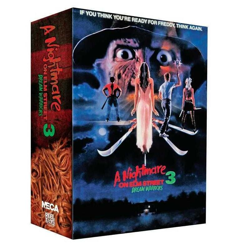 a Nightmare on Elm Street 3 Freddy Krueger Freddy's Nightmares Figure Collection Toys 20cm
