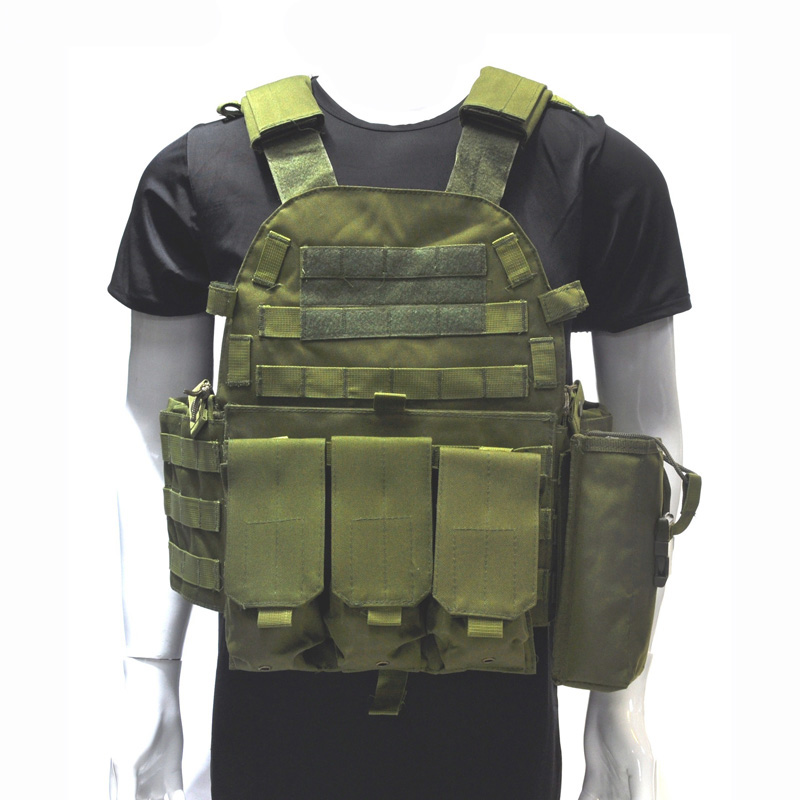 Army Military Accessories Tactical Vest Molle Airsoft Hunting Vest Outdoor Training Combat Protection Vest Camouflage Waistcoat accessories bag quick tug tactical vest accessory box page 4
