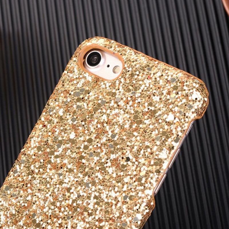 Bling glitter case untuk iphone 7 8 plus asli hard case untuk iphone - Aksesori dan suku cadang ponsel - Foto 4