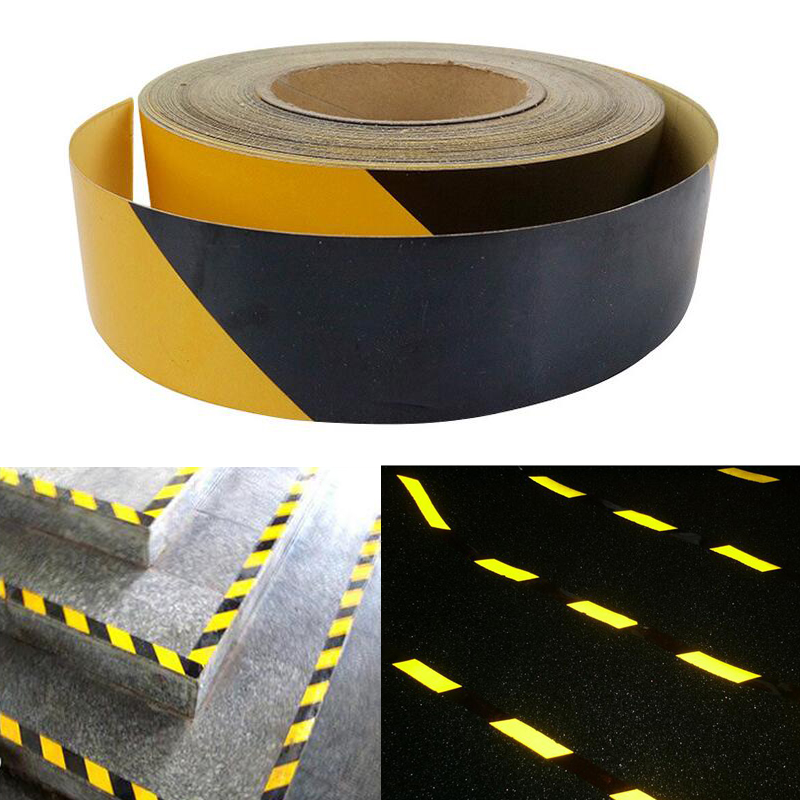 50mm X30m Car Reflective Material Tape Sticker Automobile Motorcycles Safety Warning Tape Reflective Film Car Stickers