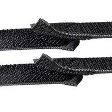 1PCS/LOT YT681B  Wide 60 mm   Elastic Magic Tape  Elastic bandages  Staylace Waistband   Long 30-80CM Banding  Cable tie