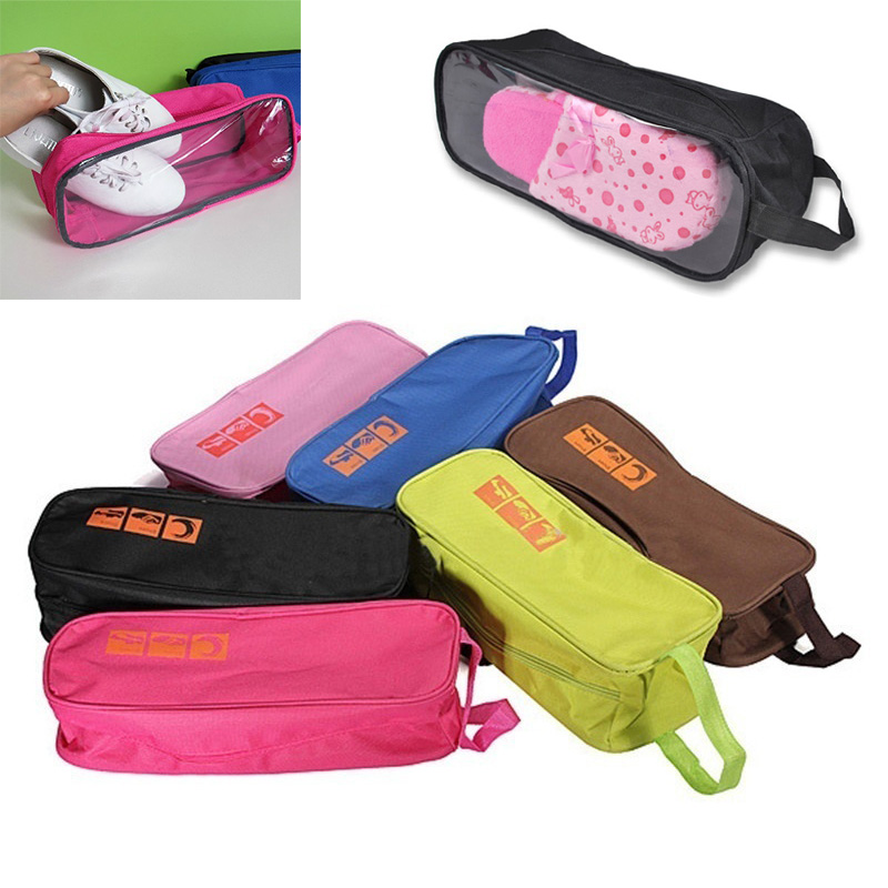 Boot Shoes Bag Carry Storage Case Waterproof Travel Shoes Bags AB@W Women Bag