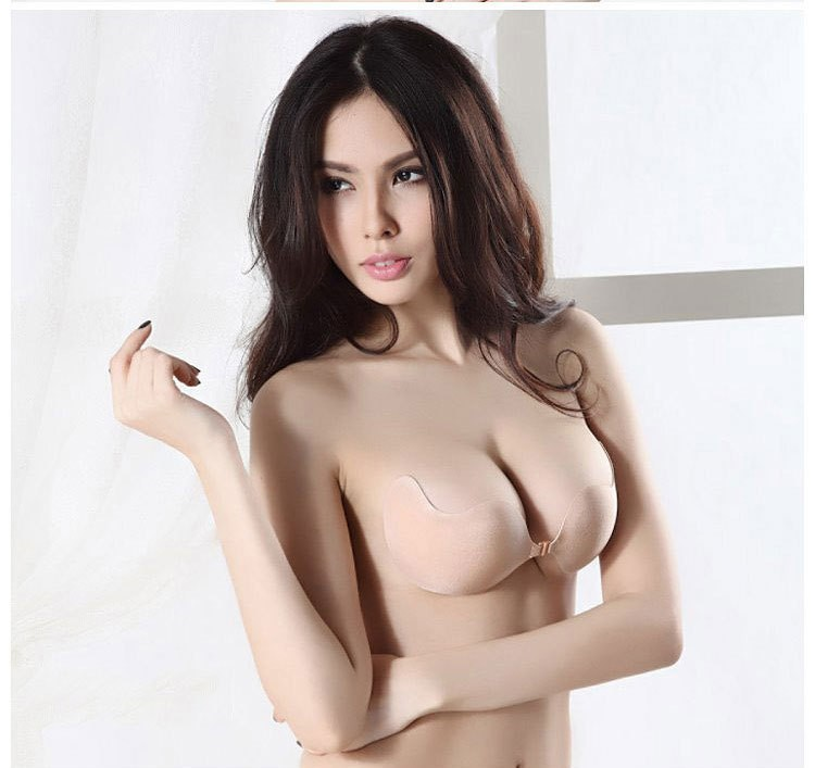 cadc0ea91a9f8 Wedding Dress Swimming Sexy Invisible Self-Adhesive Size A b c d Cup Bra  Silicone Breast Enhancer  9779Sofia