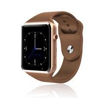 Bluetooth Смарт-часы, умные часы A1 Android Телефонный звонок Relogio для мобильного телефона 2G GSM SIM TF карты Камера для iPhone samsung HUAWEI PK Q18 DZ09