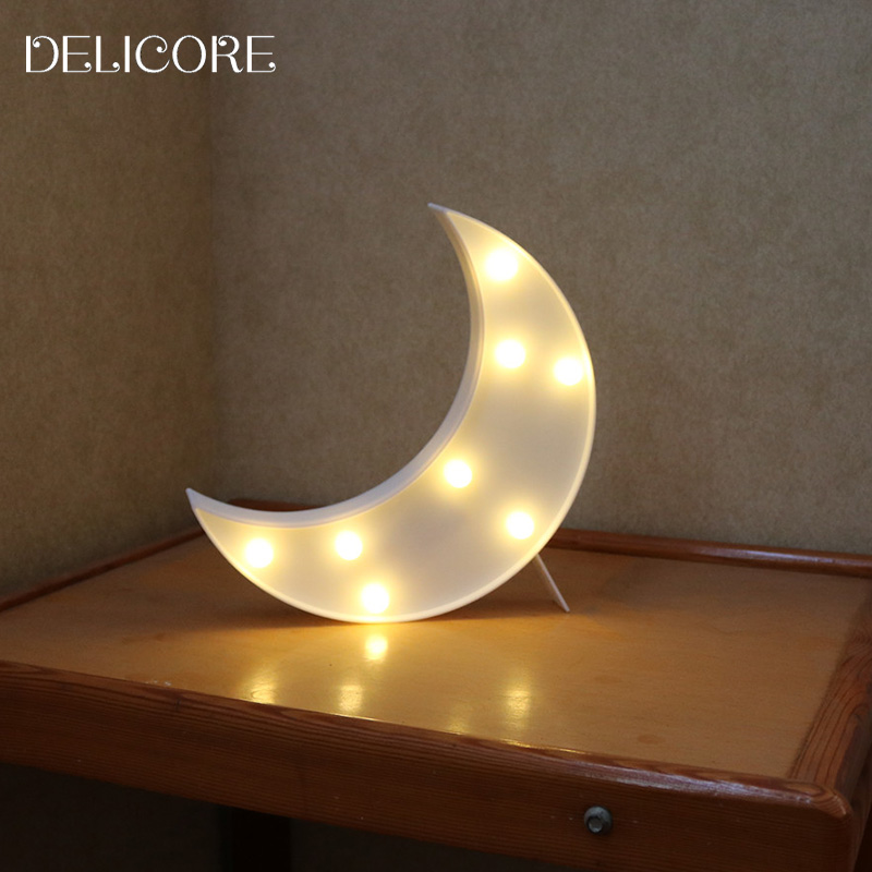 Moon Light For Bedroom: Aliexpress.com : Buy DELICORE Novelty Moon Night Light