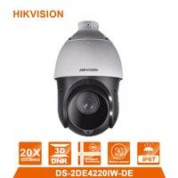 Hik Original DS 2DE4220IW DE English Version 2MP 20X Network IR PTZ Camera 100m IR POE