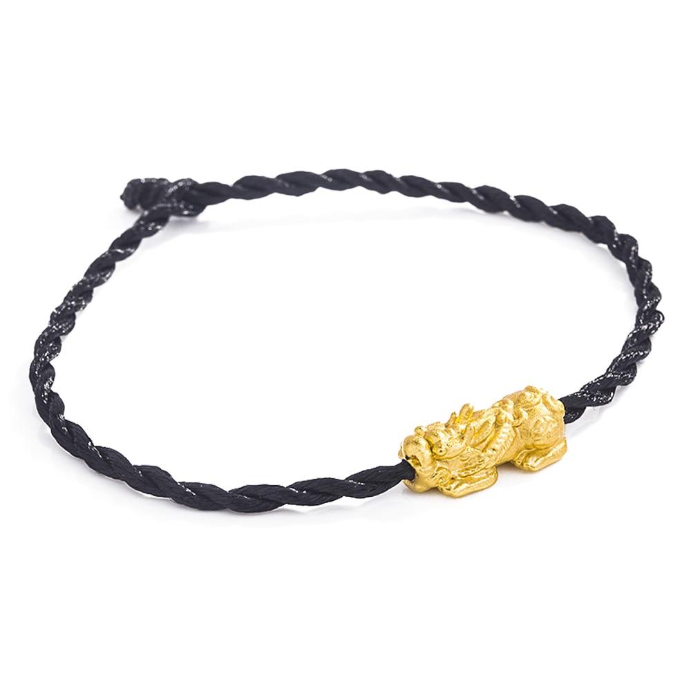 Храбрые войска браслет Для женщин браслет милый счастливый браслет Модная бижутерия для декорирования - Окраска металла: Black