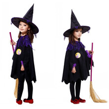 M-XL fantasia disfraces Kids Harry Potter Costume Halloween Costumes for Children Girls Witch Cosplay Free shipping