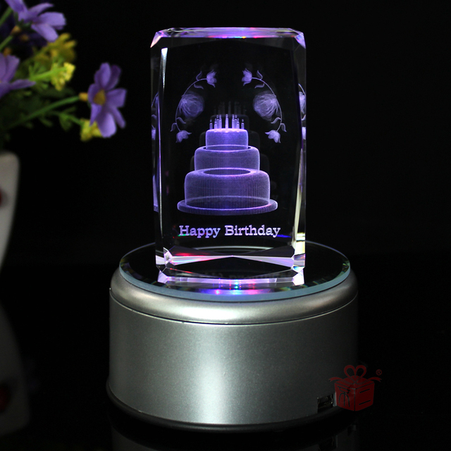 Levon Fuji Crystal Music Box Birthday Cake Gift Ideas Girlfriend Gifts To Send Boys