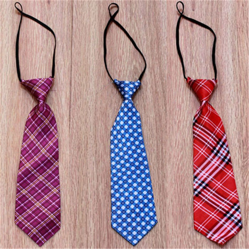 Boy's Tie Mix-color Newborn Cute Baby Photography Tie Costume Prop Outfits Photo Props Newborn Baby Girls Boys Cute Necktie Random Color Apparel Accessories