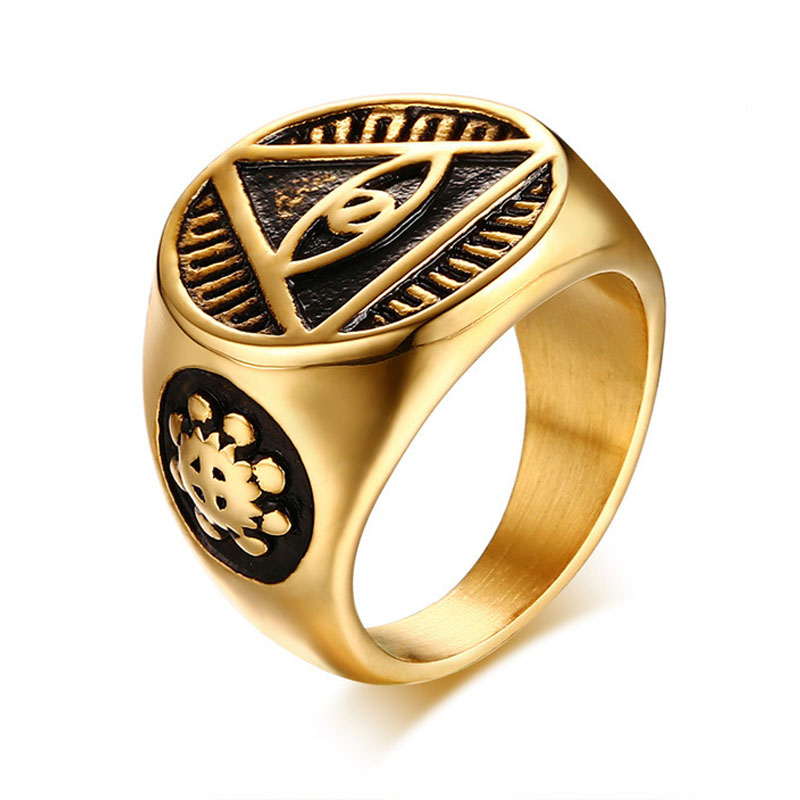 line Shop New Arrival Cool Signet Ring The e Ring All Seeing