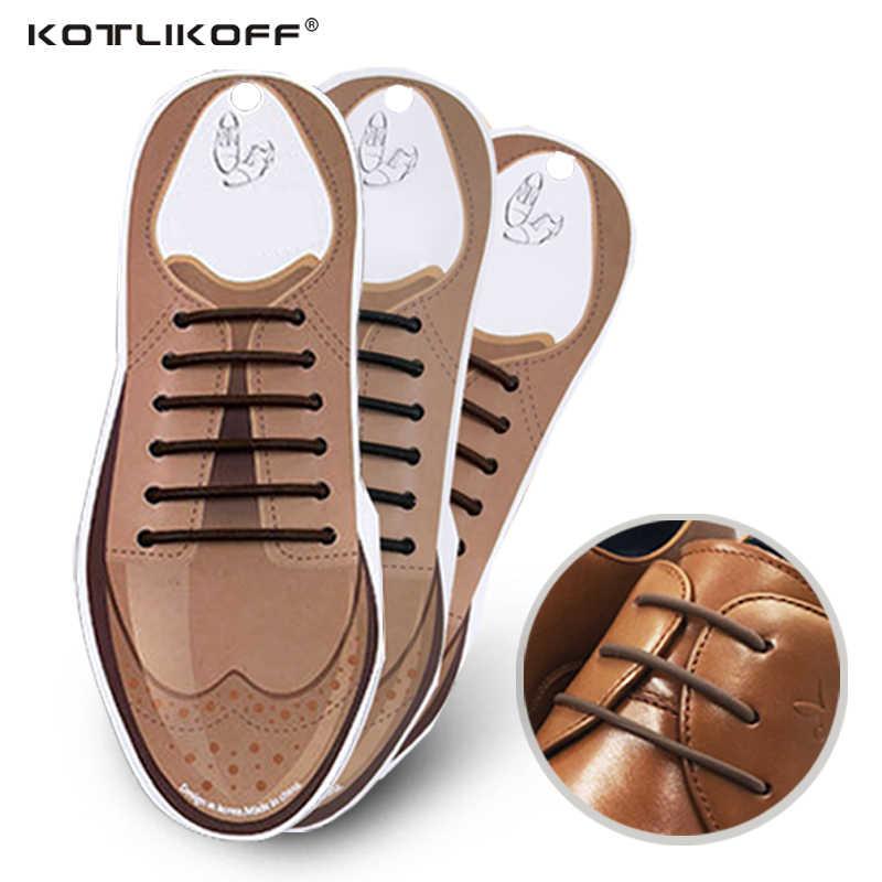10 Cái/bộ Không Buộc Dây Giày Mới Mới Lạ Silicone Đàn Hồi Da Dây Giày Cho Nam Nữ Tất Cả Đều Phù Hợp Dây Đeo Kinh Doanh giày