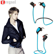 Wireless Bluetooth Earphone Portable Handsfree MIC Bluetooth 4.1 Headset Noise Cancelling Microphone For IPhone Android Phone
