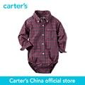 Carter 1 unids bebé niños Popelina Button-Front Body 225G604, vendido por carter oficial China tienda