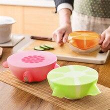 Hoomall красочные силиконовые крышки для сохранения свежести, растягивающиеся крышки для миски для еды, многоразовые кухонные столовые приборы, контейнер для хранения, крышка