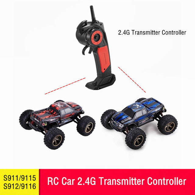 US $18 88  Upgrade Repair Parts RC Car 2 4G Transmitter Controller For  Remote Control 1:12 S911/9115 S912/9116 Truck Toy Accessories Spare-in  Parts &