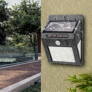 Image 2 - Bombilla Solar recargable con Sensor de movimiento para exteriores, decoración de jardín, luces nocturnas, resistente al agua, 20, 30LED