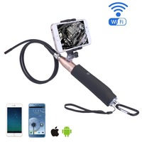 Handheld Wifi Selfie Endoscope Camera 8mm Lens Endoscopio 6 LEDs Waterproof IOS Android Endoscope Inspection Borescope