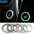 Luminoso Anillo de ojo de la Cerradura De Encendido de Arranque y Parada 5 Colores RS Deportes estilo de la Etiqueta Engomada para Mazda Atenza Axela Para CX5 CX-5 2014 2015