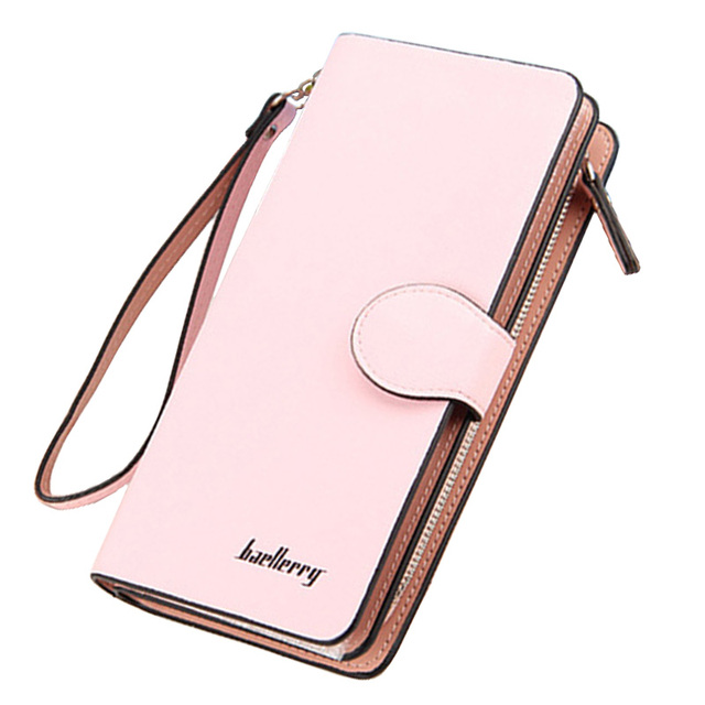 e4eb55cc0f Baellery Woman Wallet Long Purse Top Quality Leather Women Wallet Brand Female  Card Holder Big Capacity