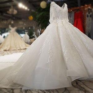 Image 4 - AIJINGYU gelinlikler kanada satın lüks evlilik Online türkiye iki bir nişan seksi peçe düğün gelinlik mağazaları