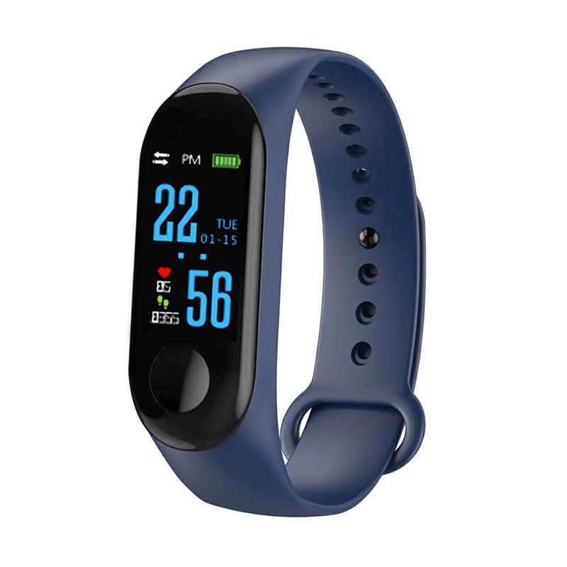 Quente pulseira de relógio banda inteligente pulseira de fitness monitoramento pressão arterial monitor de freqüência cardíaca bus66
