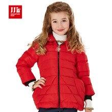 Девушки зимнее пальто дети парка 80% утка вниз зимняя куртка для девочек детей пиджаки бренд дети зимняя куртка красный