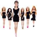 1 Шт., Подходящий для 28 СМ Гений монстр Куклы Одежда Красивая Ручной Черная юбка Модная Одежда Для Barbie Doll Лучшие подарок