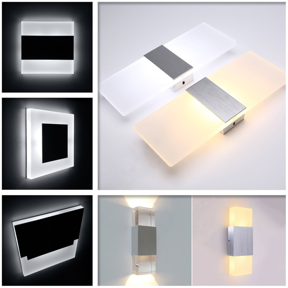 Lights & Lighting New Fashion New Design Black Round Living Room Wall Lamp Simple Creative Decorative Lights Led Wall Lamp Stairs Aisle Wall Lights Attractive And Durable