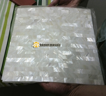 express shipping free!! brick pattern,tile backsplash , white mother of pearl seamless mosaic tiles,homer mosaic, 11 sq ft/lot