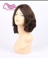 Finest European Virgin Hair Slight Wave Jewish Wig Silk Top Kosher Wig Best Sheitels Free Shipping