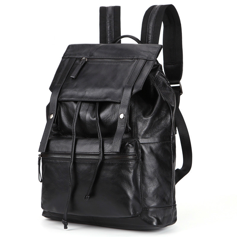 2018 New Travel Luggage Genuine Leather Men Backpack String Wear-resisting Man Concise Fashion Pack Student Bag PR008134 2018 new travel luggage genuine leather men backpack string wear resisting man concise fashion pack student bag pr008134