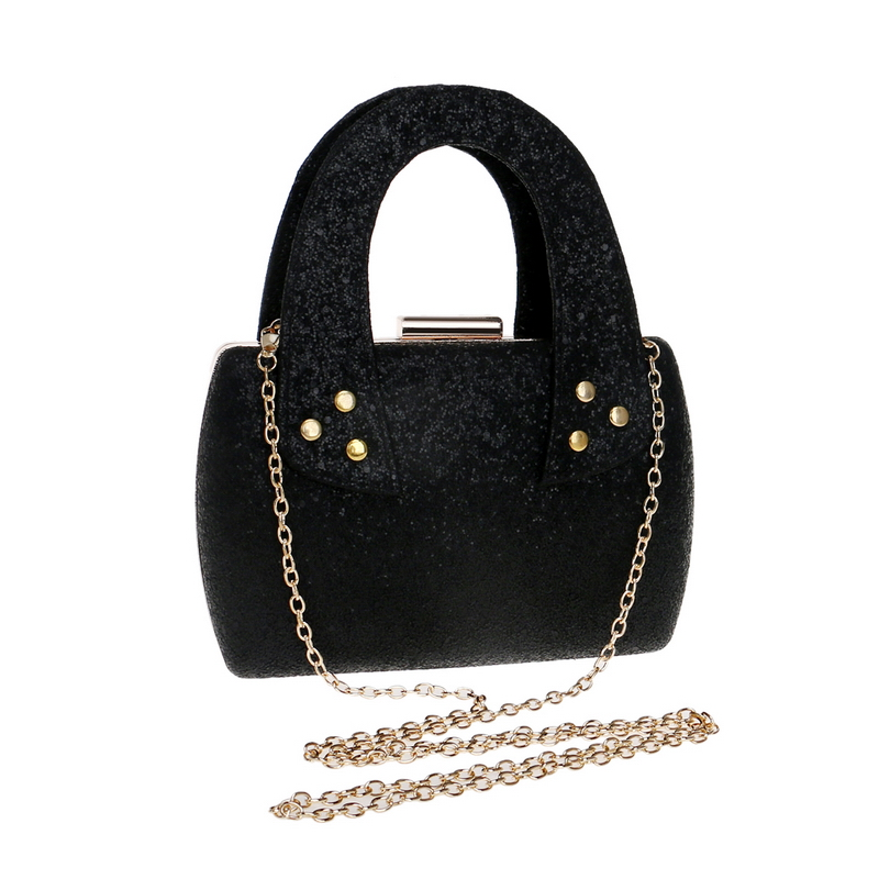 Small Women Handbags Chain Shoulder Ladies Purse Bag Day Clutch Sequined Party Evening Bag For Wedding
