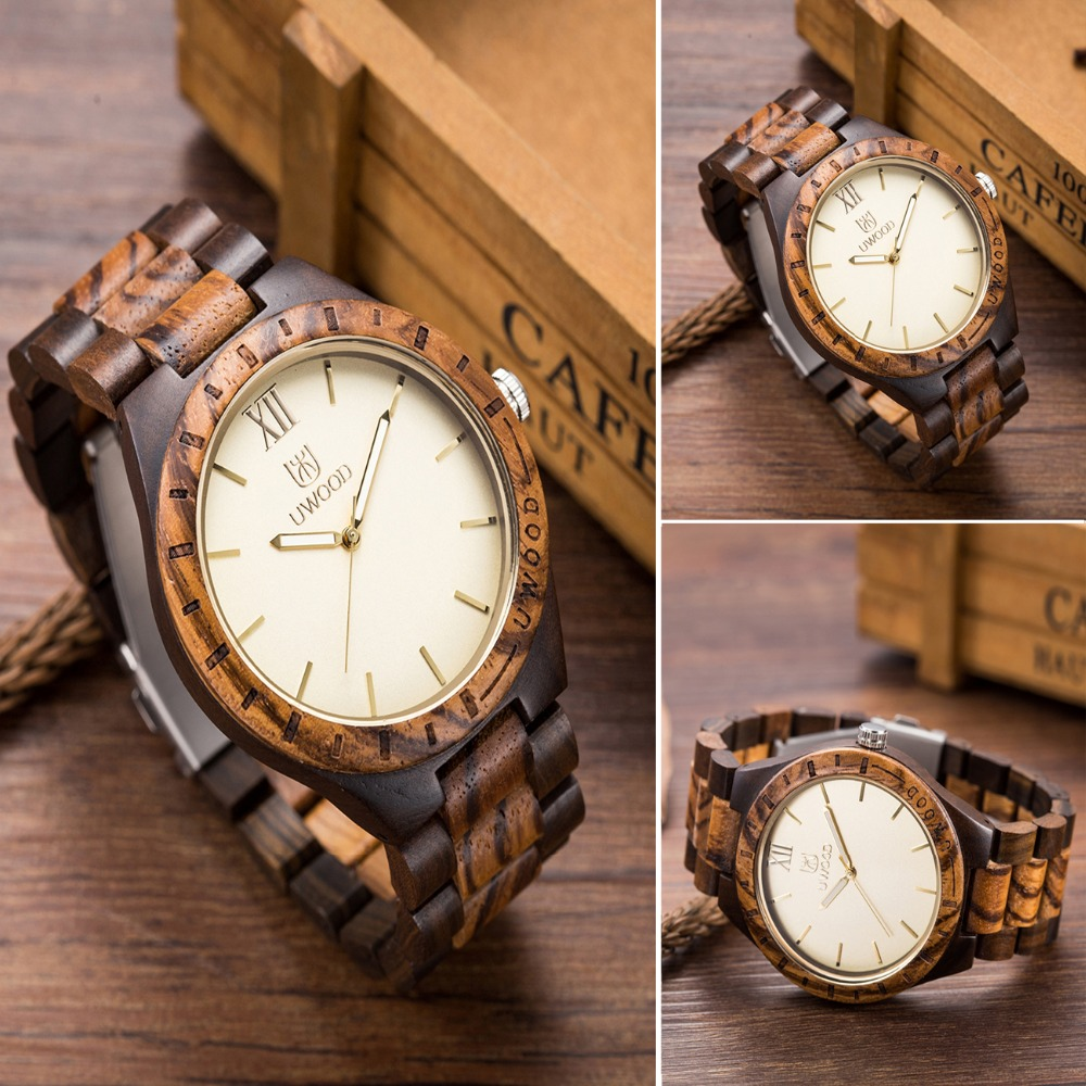 Luxury Brand business Men Watch Wood Watches Mens Fashion Casual Wooden WatchWood Band Feminino Relojes as Gifts for Friends bobo bird brand new sun glasses men square wood oversized zebra wood sunglasses women with wooden box oculos 2017