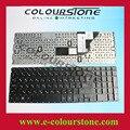 Marca new Russo layout do teclado do portátil para HP probook 4510 s 4515 s 4710 s cor preta sem moldura pequena tecla enter