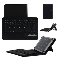 7 8 inch Universal Leather Case With Bluetooth Keyboard For 7 7.9 8 inch Tablet PC For iPad Mini Samsung Lenovo Keyboard Cover