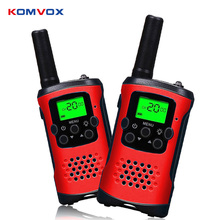 Radio bidireccional Mini Walkie Talkie para niños niño Walkie-Talkie CD Radio Vhf Comunicador linterna LCD pantalla niños regalo