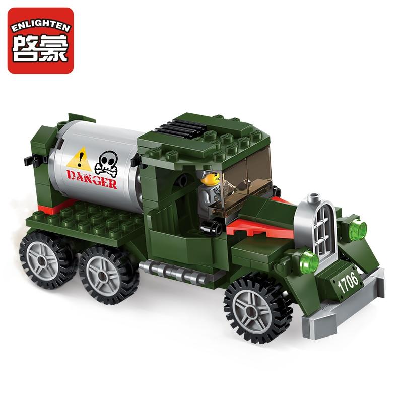 Prosvijetlite vojne obrazovne građevinske blokove igračke za djecu - Izgradnja igračke - Foto 3