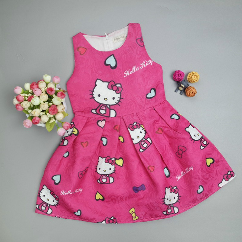 Hello Kitty Party Dresses for Girls